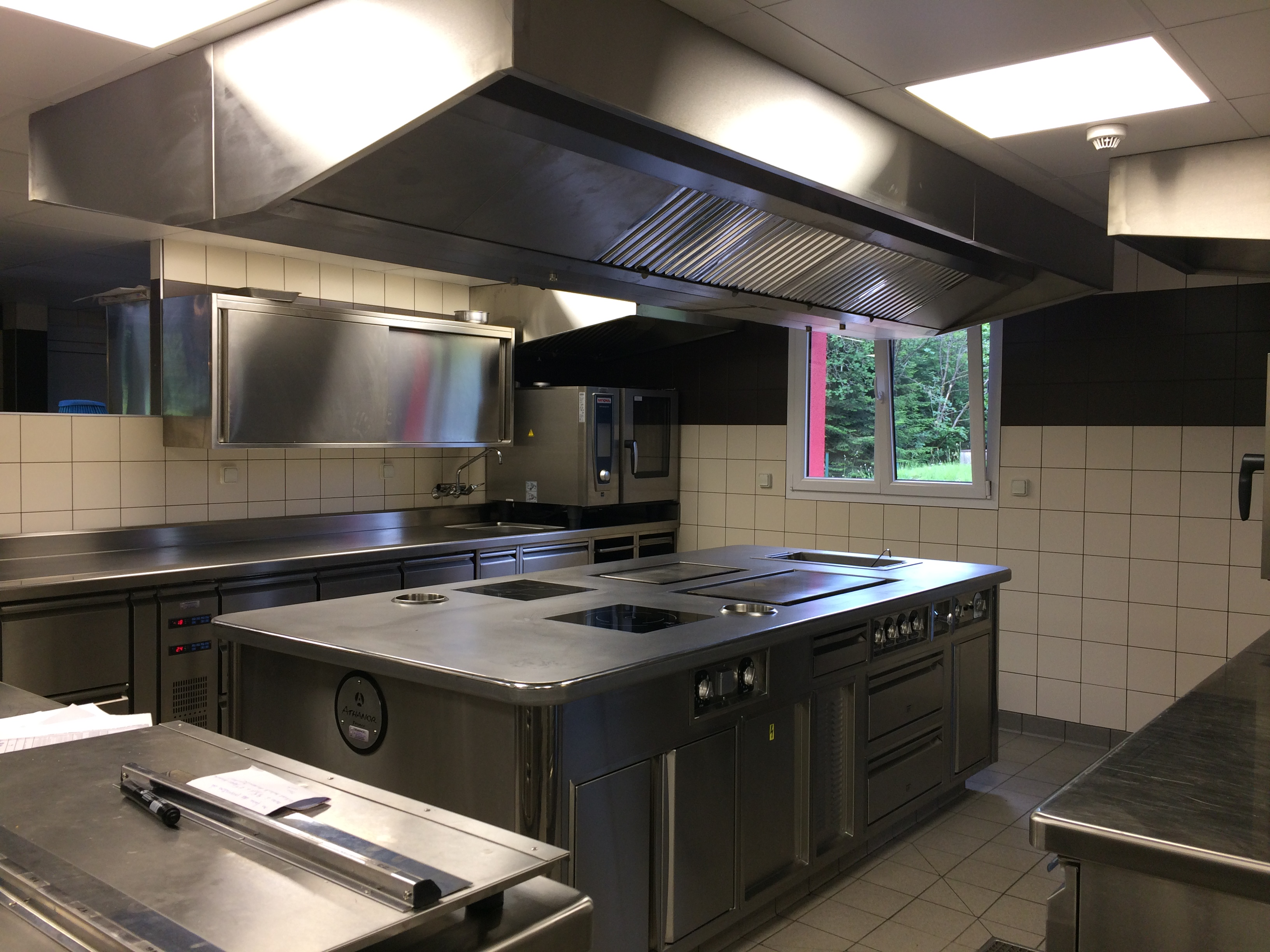 A new kitchen for Les Jardins de Sophie